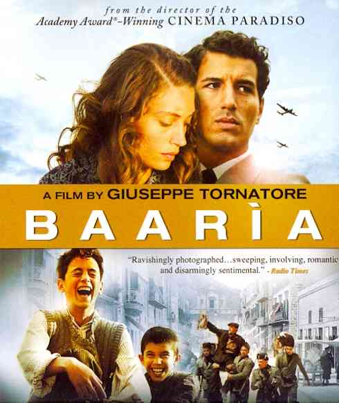 BAARIA BY SCIANNA,FRANCESCO (Blu-Ray)